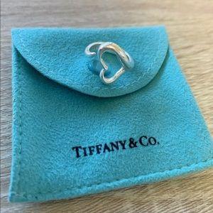 Authentic Tiffany & Co. Elsa Peretti Heart Ring